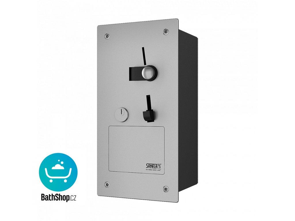 Vestavěný automat pro jednu sprchu, 24 V DC, přímé ovládání