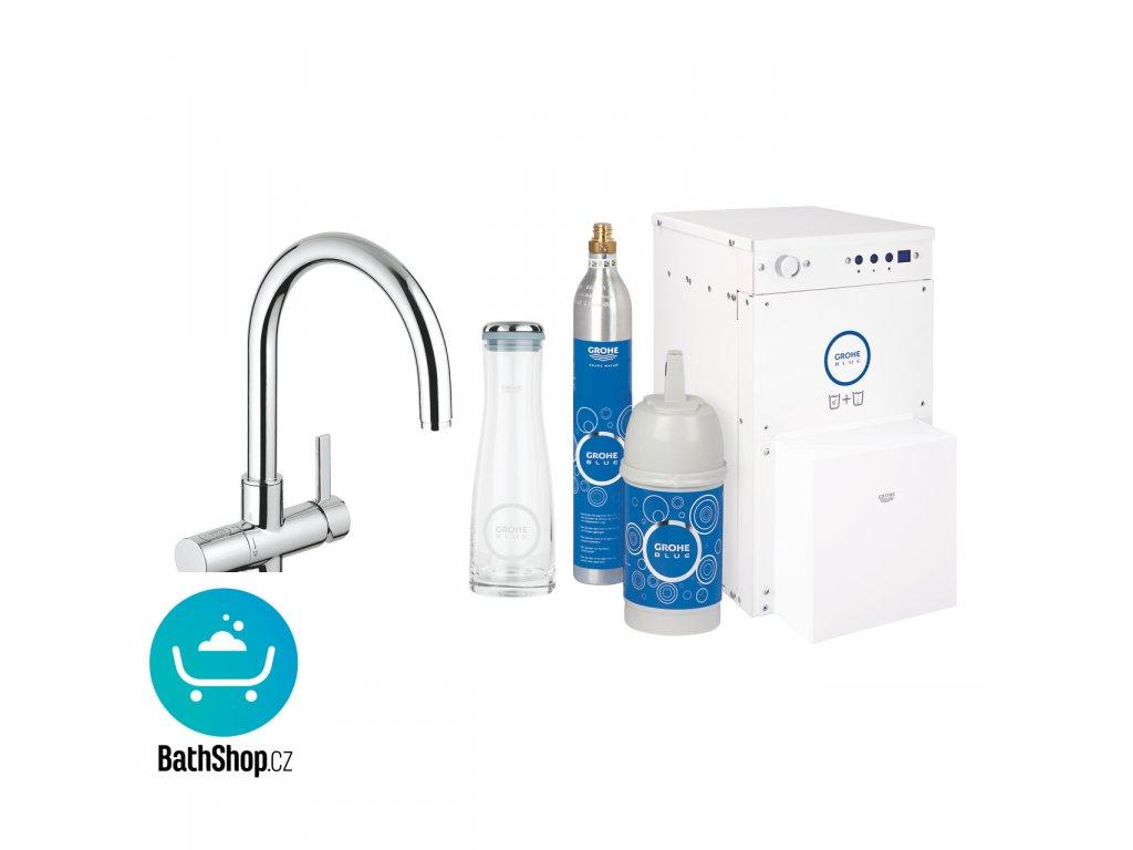 GROHE Blue Professional Starter kit, chrom - 31079000