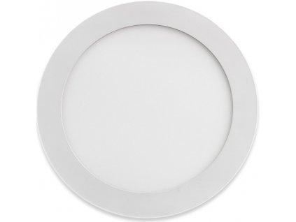 Apled Rondo bílé API-SK018, prům. 240x15mm montážní otvor: 200mm, 18W, Teplá, 3000K, 1150lm