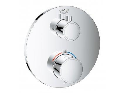 Grohe Grohtherm Termostatická sprchová baterie pro 2 spotřebiče, chrom - 24076000