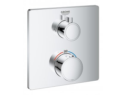 Grohe Grohtherm THM trimset shower square - 24079000