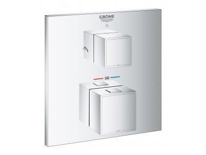 Grohe Grotherm Cube dvousměrný přepínač sprcha/sprcha - 24154000
