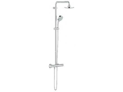 Grohe NEW TEMPESTA COSMOPOLITAN SYSTEM Sprchový systém s termostatem na zeď, chrom - 27922000