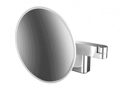 Emco kosmetické zrcátko prům. 210mm, 5x zvětšení, LED podsvícení, 220V, chrom -109506030