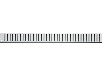 Alcaplast Pure Rošt pro liniový podlahový žlab (nerez lesk), 750 ml  - PURE-750L