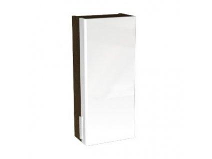 Geberit Rekord skříňka vrchní , 67,6 cm ,bílá/wenge - 88364000