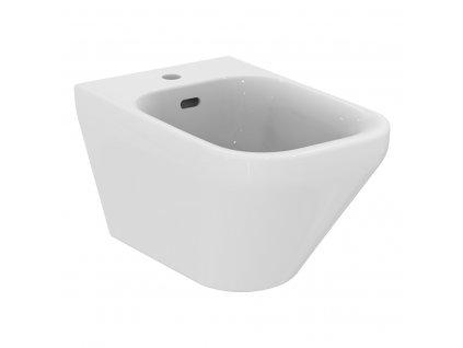 Ideal Standard Tonic II bidet závěsný s keramickou krytkou odpadu - K523601
