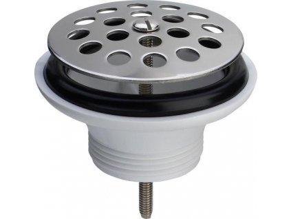 Viega Sifonová vpusť 6/4'x80mm se sítkem nerez - V117429