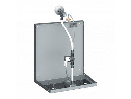 Automatická nástěnná baterie pro umístění za zrcadlo, jedna voda, 24 V DC
