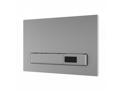 Automatický splachovač WC s elektronikou ALS do montážního rámu SLR 21, bílé tlačítko, 24 V DC
