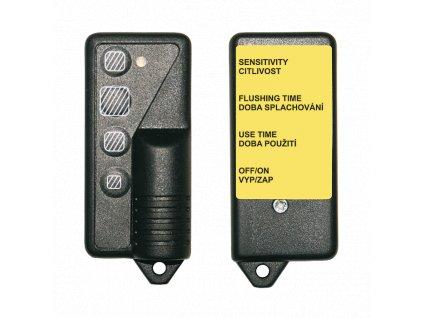 Dálkové ovládání pro nastavení parametrů radarových splachovačů, piezo čidel a termických splachovačů