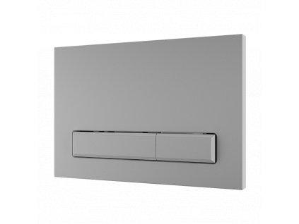 Dvojčinné splachovací tlačítko do rámu SLR 21, bílé