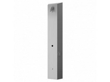 Nerezový sprchový nástěnný žetonový panel pro jednu vodu, 24 V DC