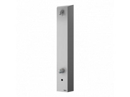 Nerezový sprchový panel s elektronikou ALS a směšovací baterií, 24 V DC