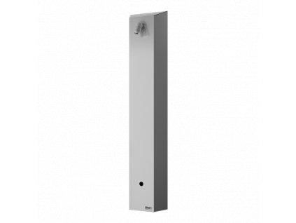 Nerezový sprchový panel s elektronikou ALS pro přívod tepleně upravené vody, 6 V