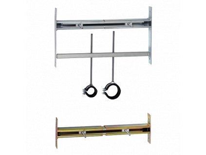 Rám určený do sádrokartonových konstrukcí pro nerezové pisoáry