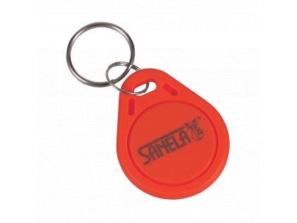 Sada 50 ks RFID žetonů do žetonových automatů, barva červená