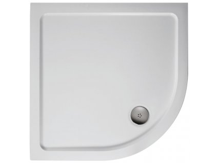Ideal Standard Simplicity Stone Sprchová vanička litý mramor  100X100 cm - čtvrtkruh - L505901