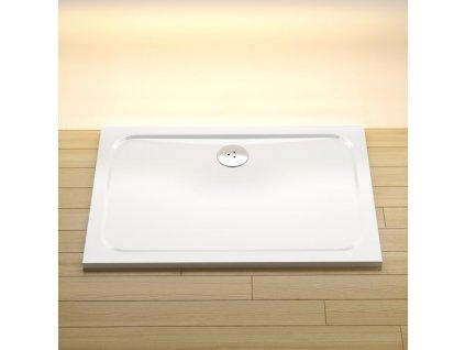 Ravak GIGANT PRO sprchová vanička  120x90 CHROME white - XA04G701010