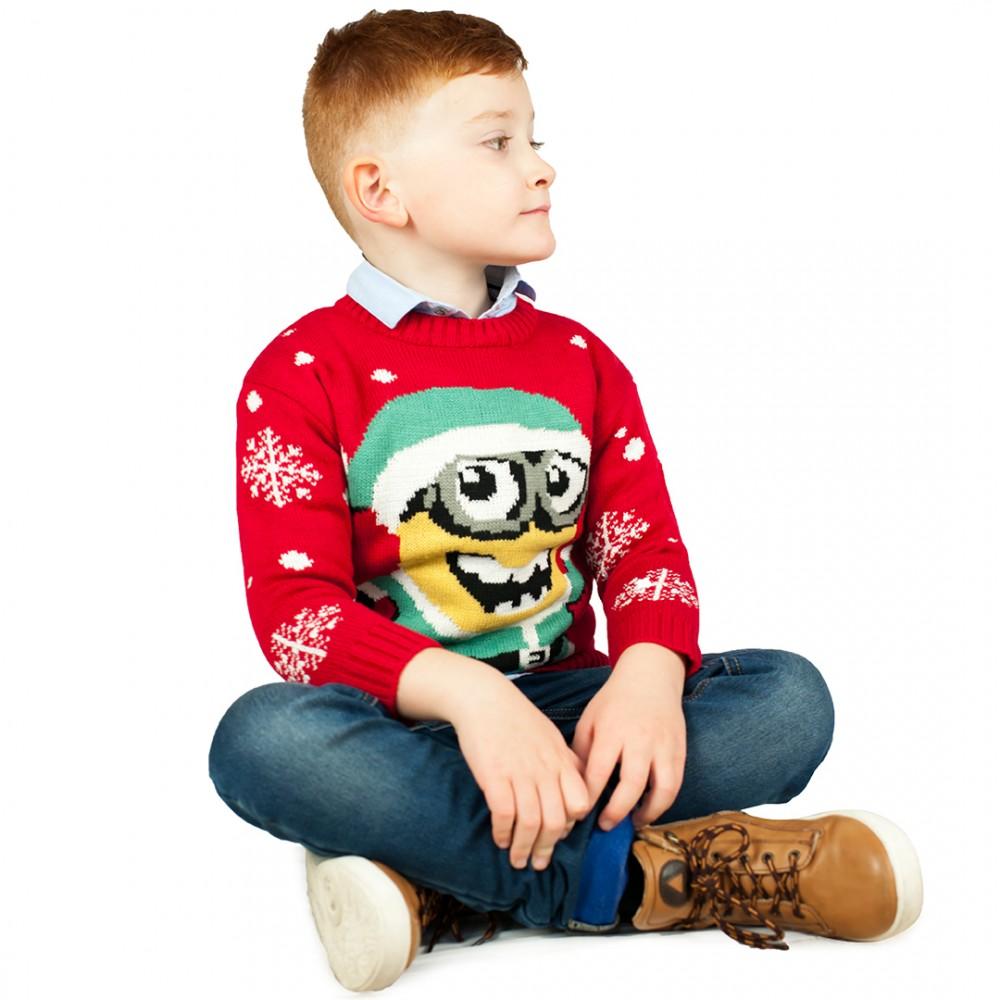 Detské vianočné svetre
