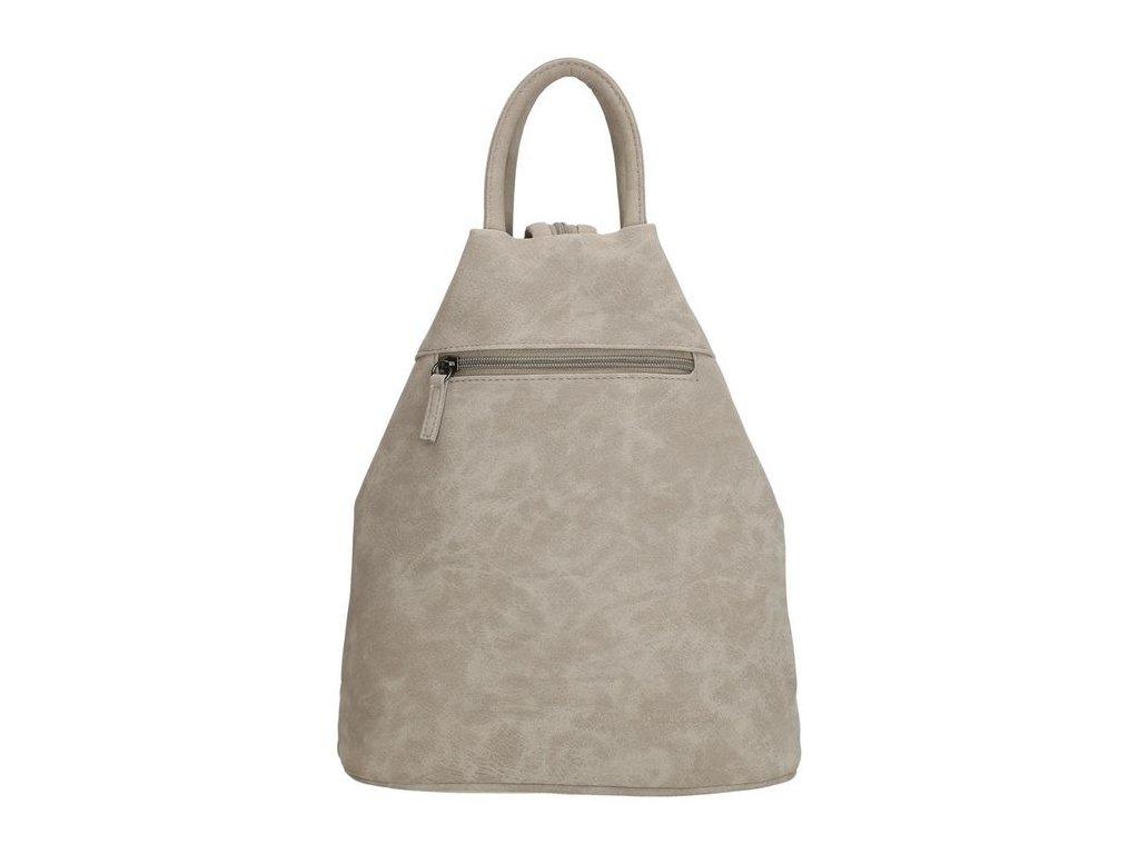 Dámsky trojuholníkový batoh Beagles Alcobendas - sivý