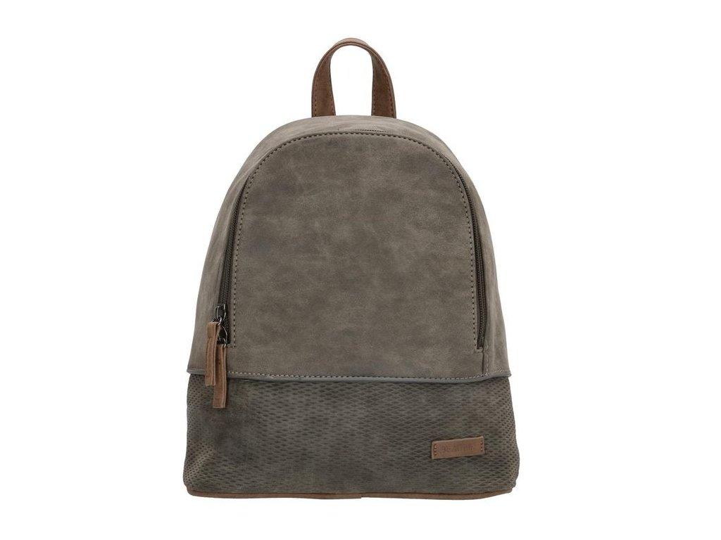 Dámsky elegantný batoh Beagles Brunete - sivý
