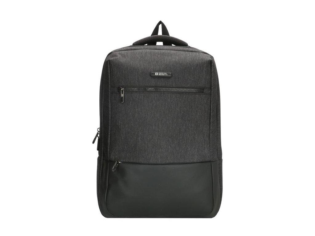 Pánsky laptop batoh Enrico Benetti Belfast 15,6 inch (38 cm) - čierny