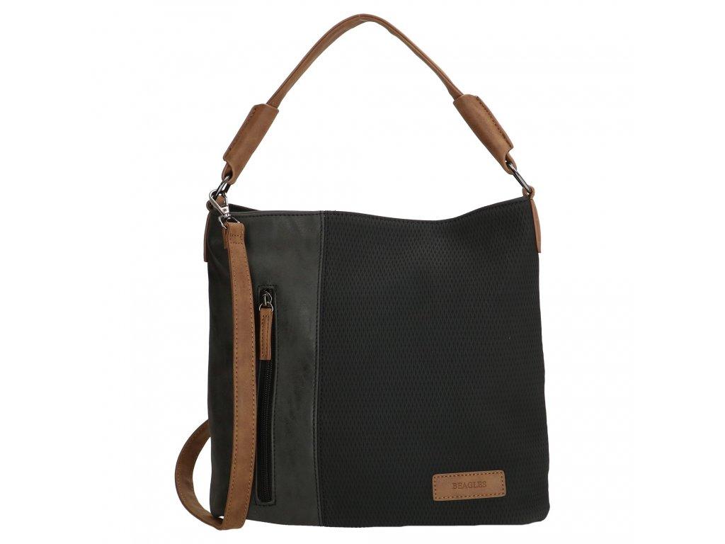 Crossbody / handbag taška Beagles Brunete - čierna