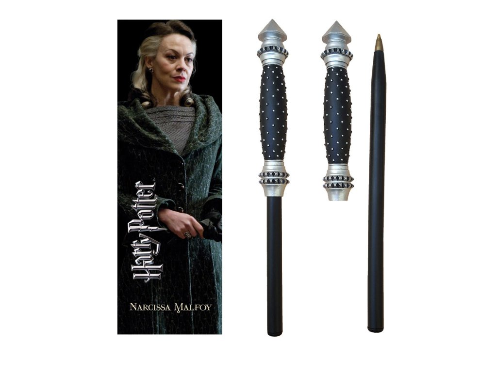 Harry Potter pero a záložka do knihy - prútik Narcissa Malfoy