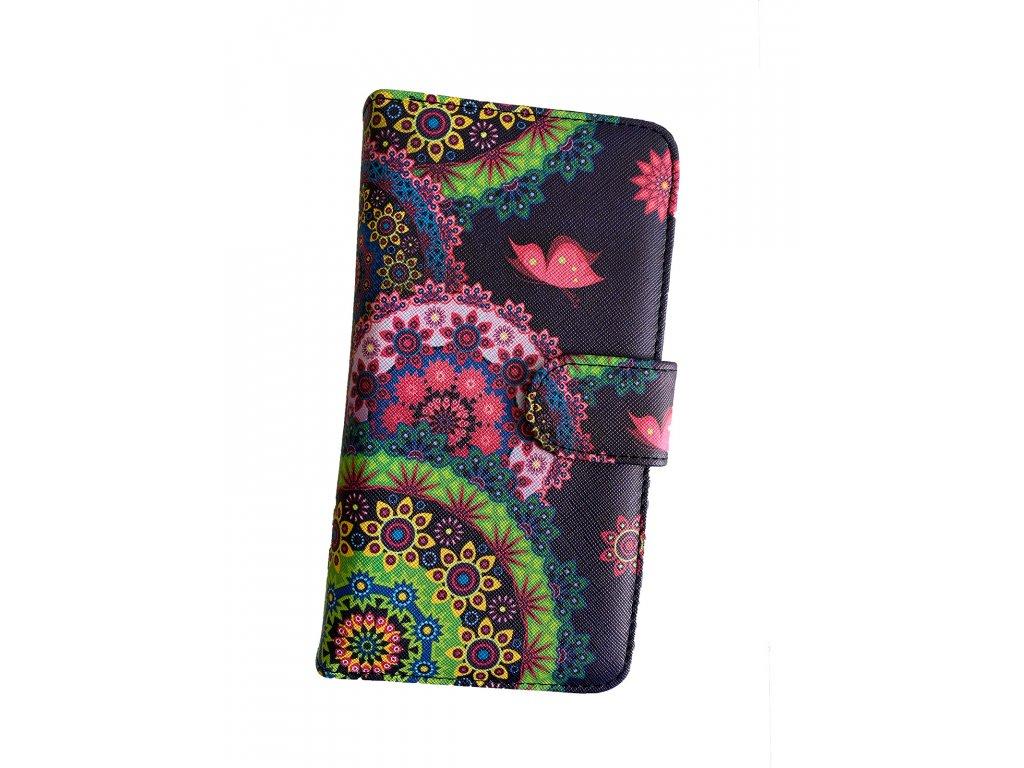 Dizajnová peňaženka Floral Mood Mandala