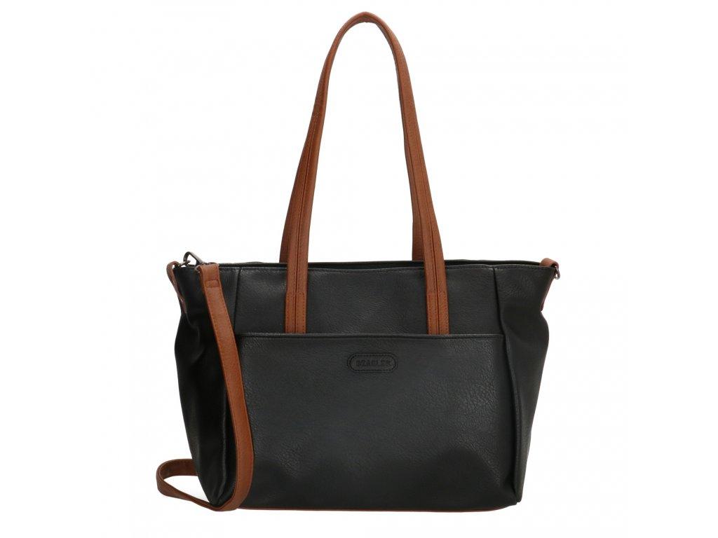 Dámska taška shoperka Beagles Xornes - čierna