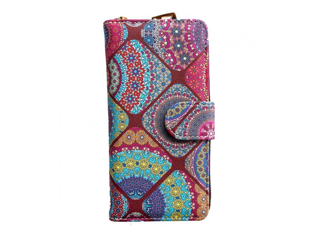 Dizajnová peňaženka Floral Mood India