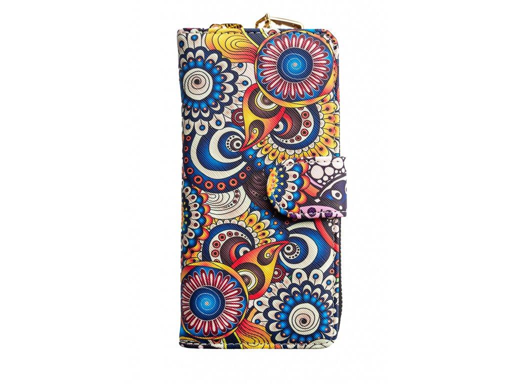 Dizajnová peňaženka Floral Mood Varna