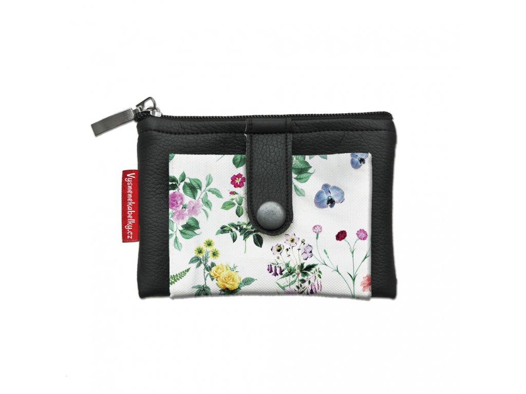 Dizajnová kľúčenka/peňaženka Herbár