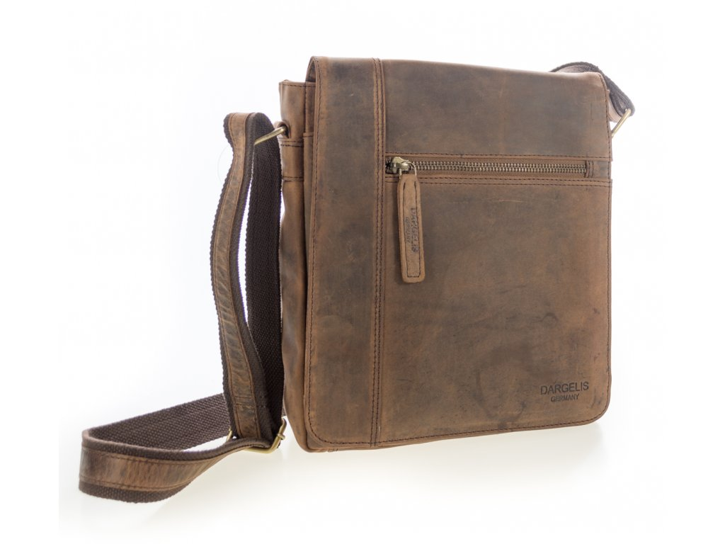 695daf66af Luxusná kožená pánska taška hnedá - Batoháreň.sk