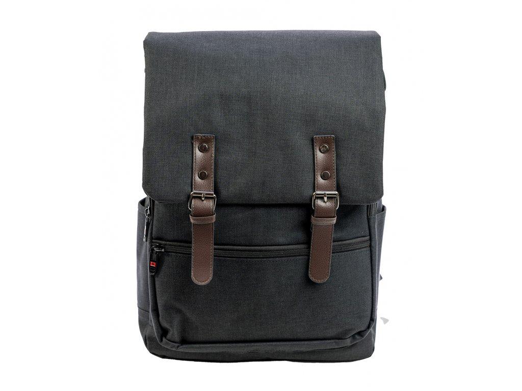 Mestský unisex batoh Bonty New Berry Collection - čierny