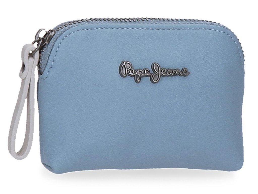 Dámska peňaženka Pepe Jeans Zaida malá - modrá