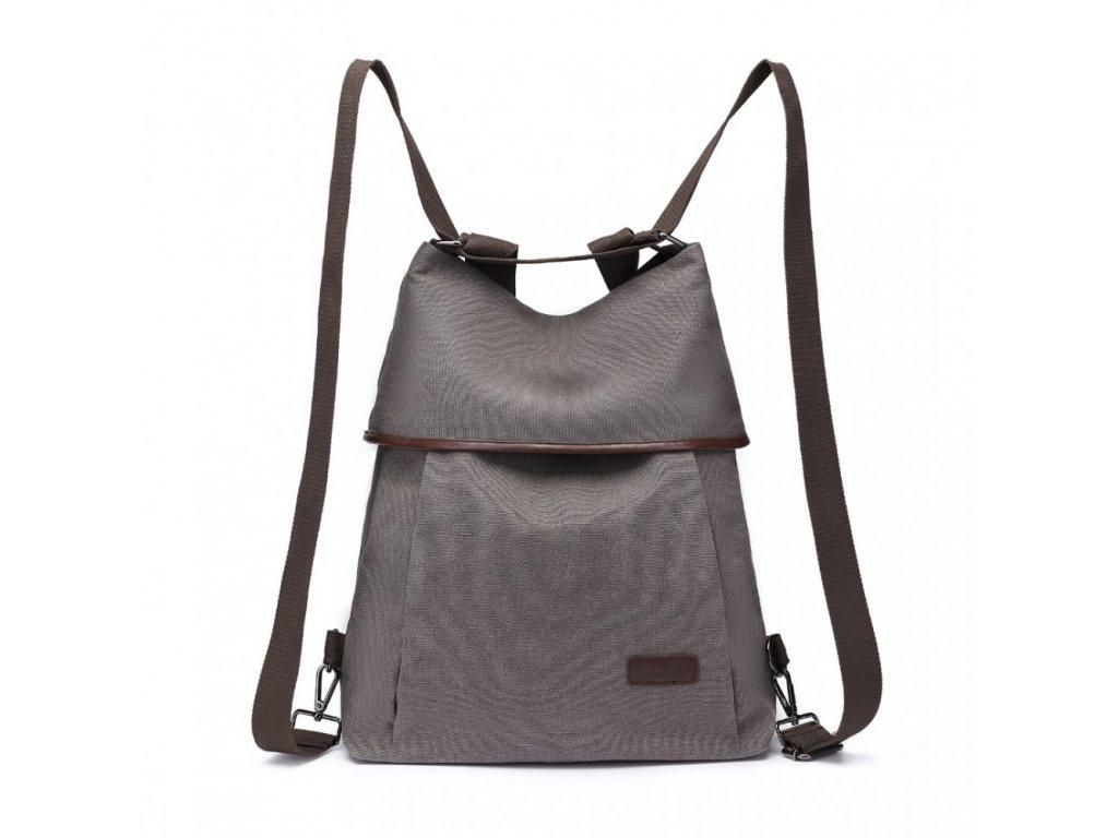 Taška a batoh v jednom Kono Saviora - sivá