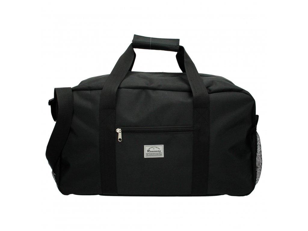 Cestovná taška Runaway basic travel - čierna