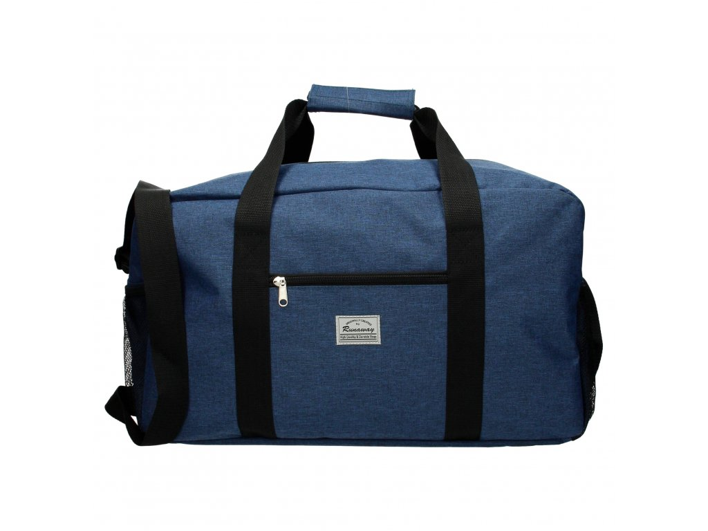 Cestovná taška Runaway basic travel - modrá