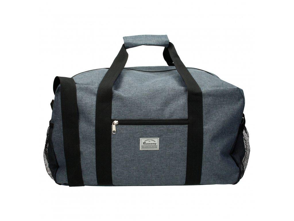 Cestovná taška Runaway basic travel - sivá