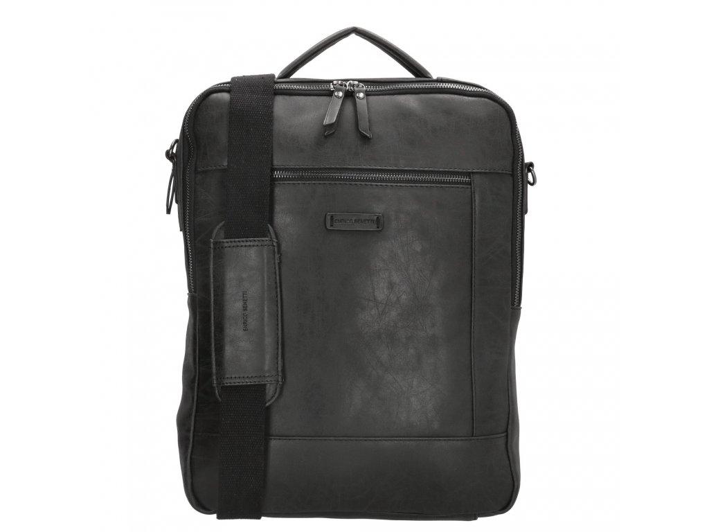 "Dámsky laptop batoh (15,6"") Enrico Benetti - čierny"