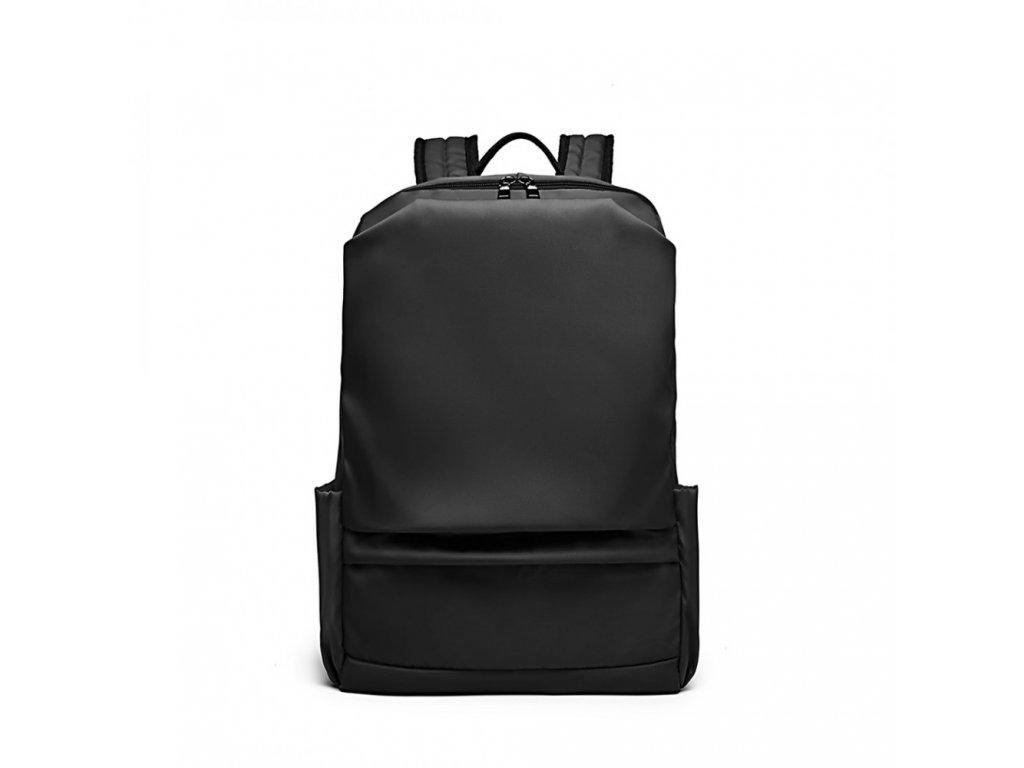 Cestovný vodeodolný batoh Kono Travel s USB portom - čierny