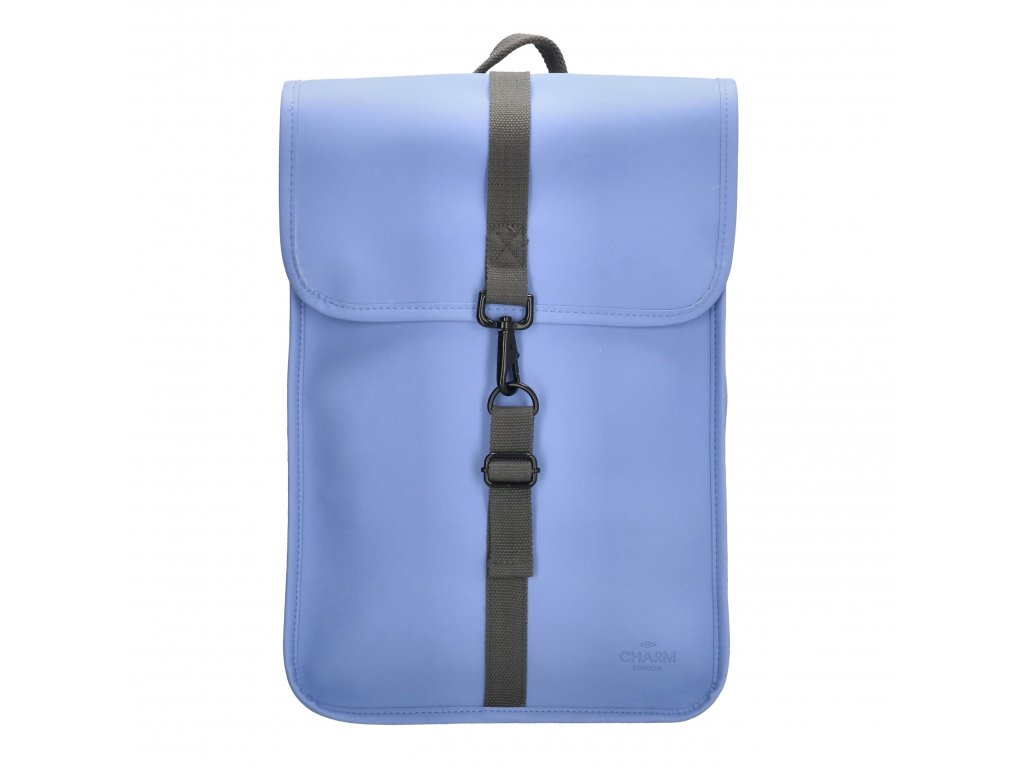 "Moderný batoh unisex Charm London Neville - 17,3 ""(43 cm) / 12L - modrý"