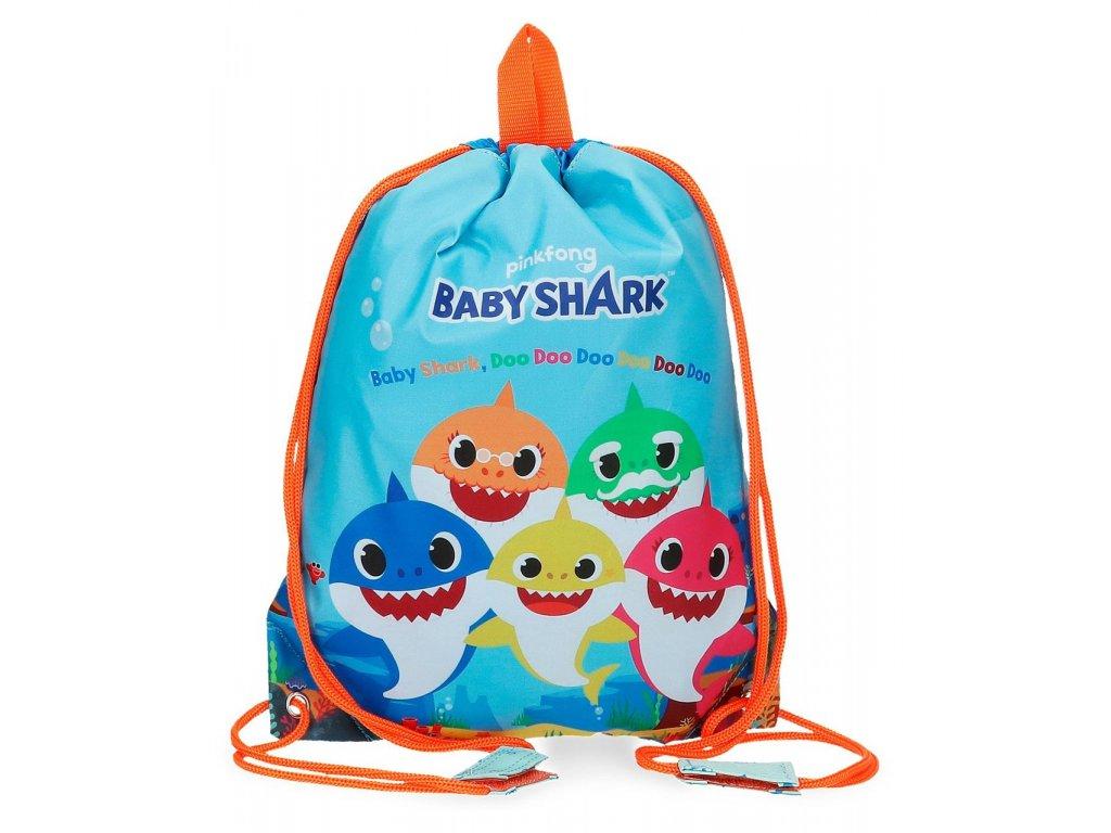 Vrecko na prezuvky Baby Shark Pinkfong