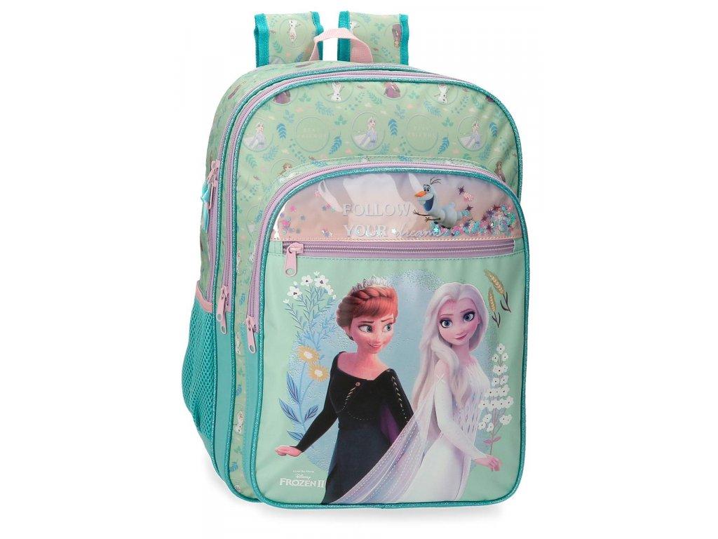 Dvojkomorový školský batoh Frozen - FOLLOW YOUR DREAMS 42 CM / 18,2L