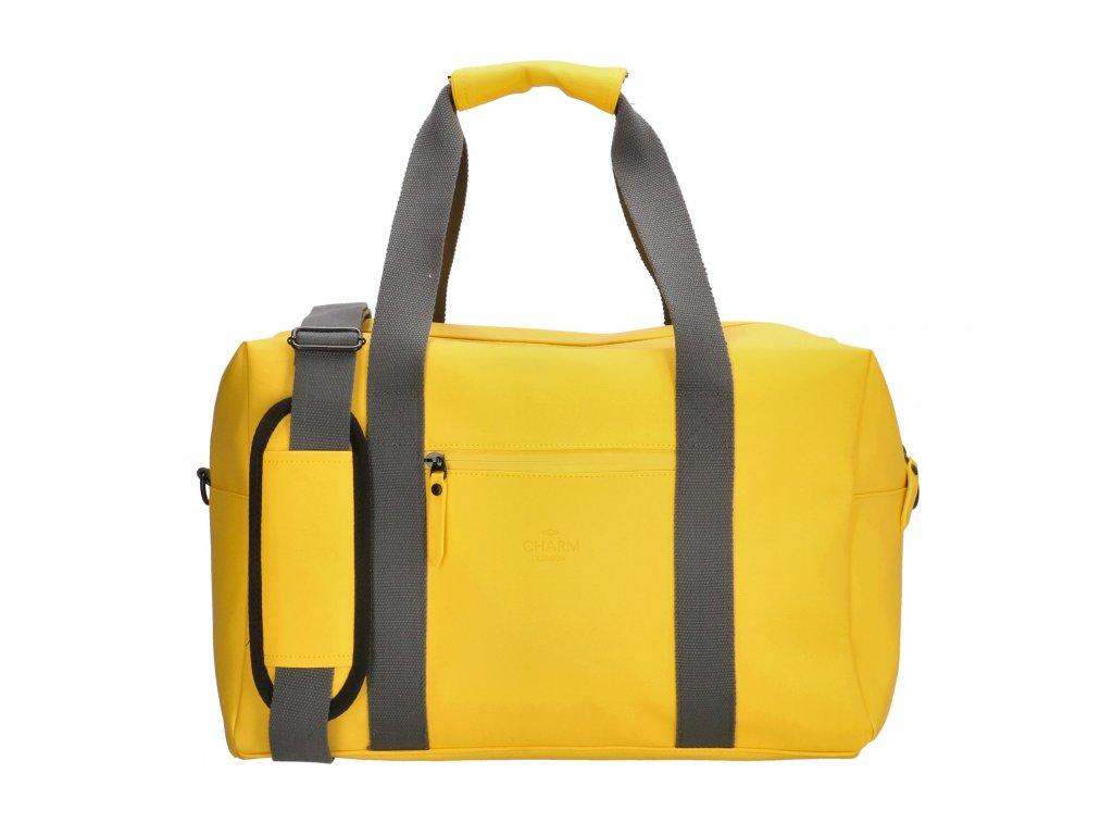 Cestovná / športová taška Charm London Neville - žltá