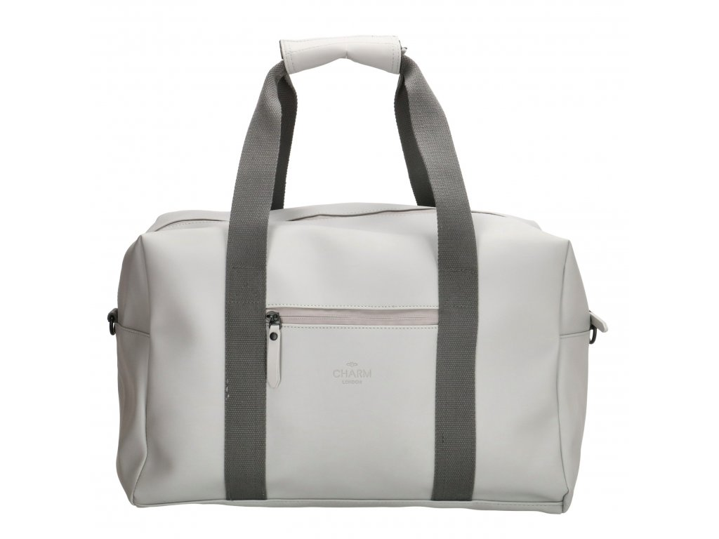 Cestovná / športová taška Charm London Neville - sivá
