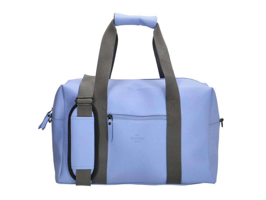 Cestovná / športová taška Charm London Neville - modrá