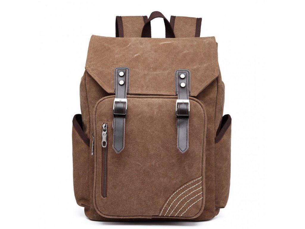Pánsky batoh na 14/15 palcový notebook - hnedý